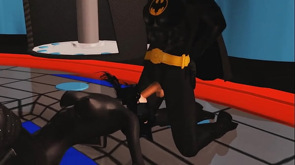 Batman gets Tricked into sex by Catwoman Thumb