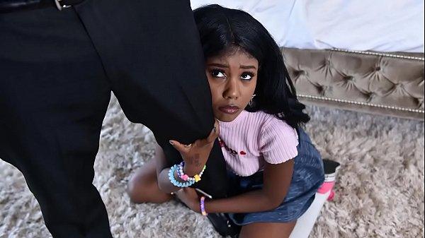 Black babysitter gets caught masturbating - black porn Thumb