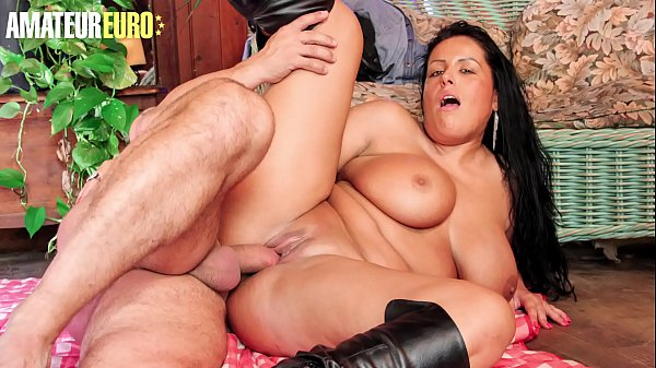 AMATEUR EURO - Hot Voluptuous MILF Tatyana Takes A Big Thick Cock Right Up In Her Wet Pussy