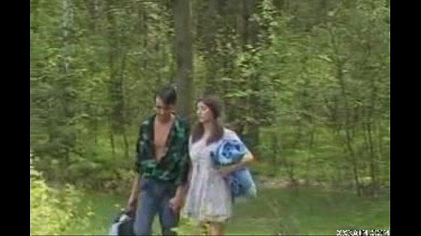 Кунилингуус в лесу
