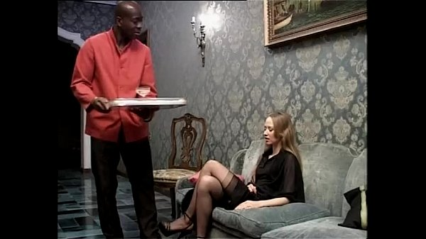 Smoking white slut wants to be fucked by her black servant Thumb