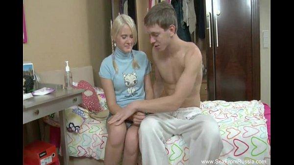 Брат и сестра в первый раз трахаются русское