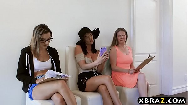 The biggest whore in Hollywood audition creampie jizzed