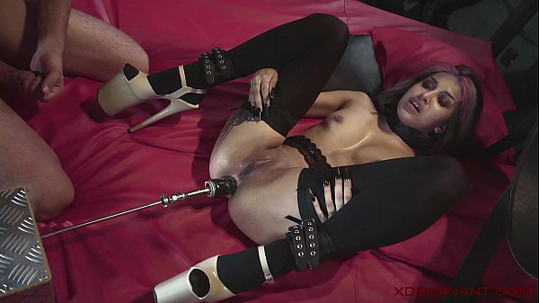 XDOMINANT 029 - ROXY LIPS ANAL CASTING IN BDSM DUNGEON