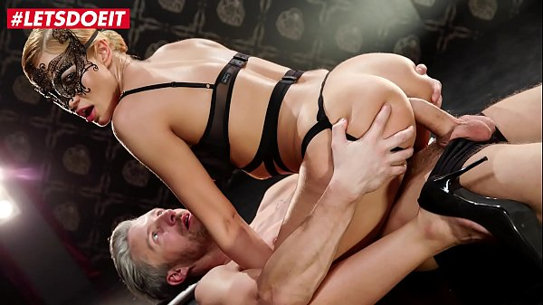 LETSDOEIT - Serbian Blondie Cherry Kiss Dominates Lutro And Takes Hot Erotic Anal