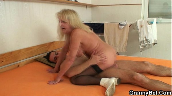 She jumps on my horny cock