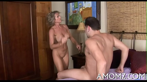 Older chick groans and gets off Thumb
