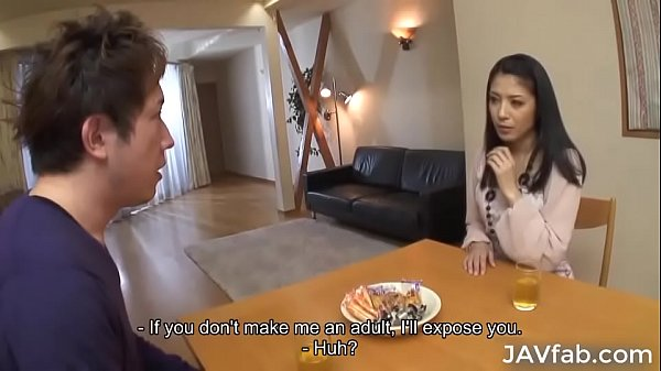Milf Kana Aizawa fucks her son's friend