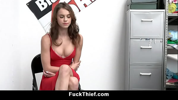 Small Tits Shoplifter Fucked by Mall Officer Thumb