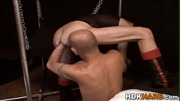 Gay hunks ass stretched