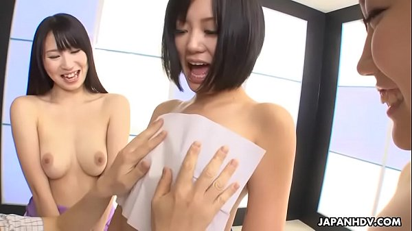 Group of artisticly inclined Asian sluts getting freaky