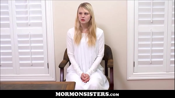 Blonde Mormon Teen Sister Lily Rader Punished By Brother Steele