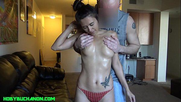 Bikini Girl Returns for a Hard Face Fuck & Rough Pussy Pounding Thumb