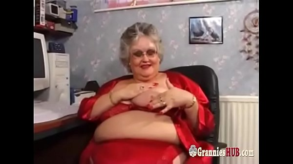 Huge Tits BBW Granny In Stockings Fucks A Young Guy thumbnail