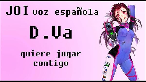 JOI con D.Va de Overwatch. ¡Voz española!