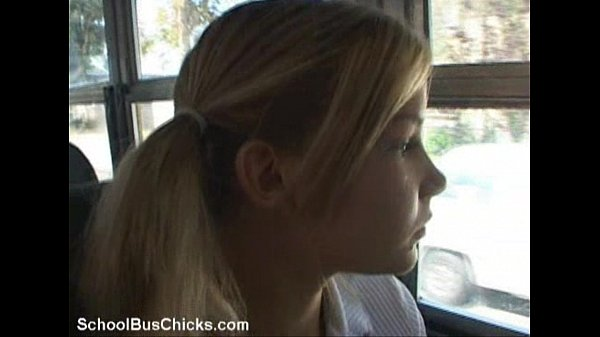 schoolbus shy girl gets a load Thumb