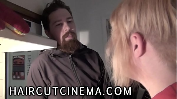 HaircutCinema.com - Haircuts Used As (Female Domination Haircut)