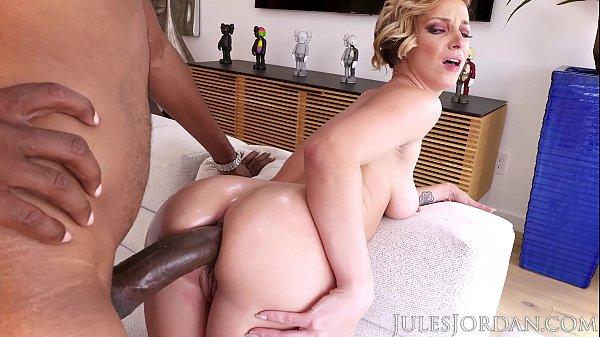 Jules Jordan - Jada Stevens Big Booty Goddess Is Back For More BBC In Her Legendary ASS