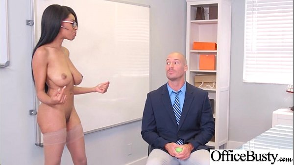 Round Big Tits Girl (Brittney White) Get Banged In Office clip-14