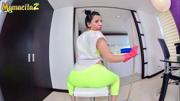 MAMACITAZ - #Otalia Barrios - Homemade POV Sex With A Big Booty Latina Maid