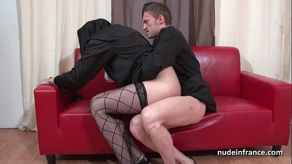 Pretty young french nun deep anal fucked fisted and cum in mouth by the priest