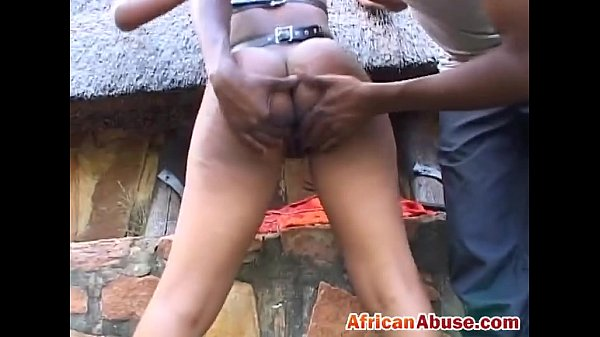 Bald ebony chick gets tied and fingered by a horny dude Thumb