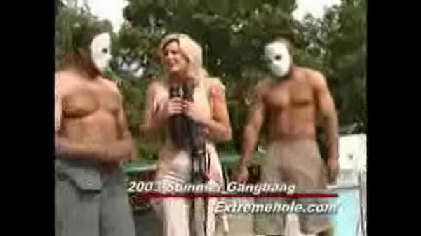 Gangbang By the pool