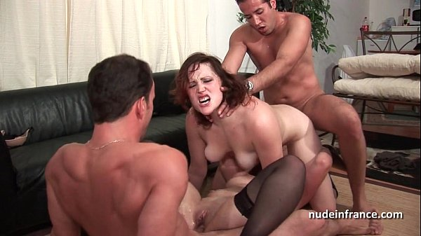 FFMM Two hotties hard anal and double penetration fucking in foursome orgy