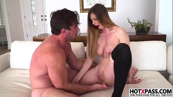 Busty girl Stella Cox gets ass fingered Thumb
