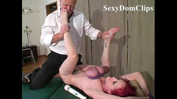 Hot lady Mz Berlin is tied up and fucked hard  with breasts compressed by ropes Thumb