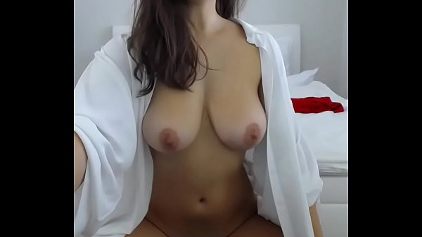Beautiful woman with hairy pussy and perfect na...