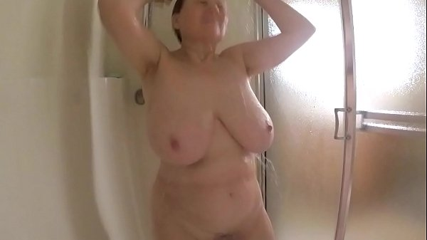 Amazing tits on 62 GILF