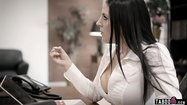 Huge tits councilwoman gets exploited by a businessman  thumbnail