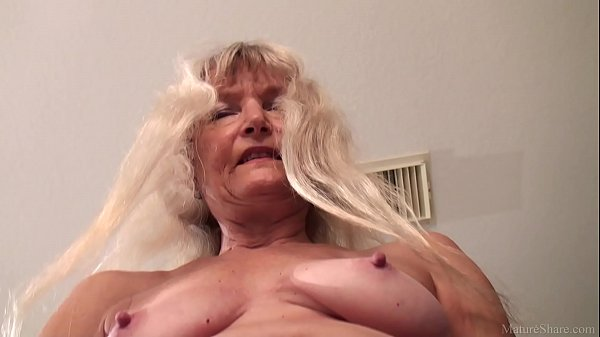 Skinny granny masturbated with dildo FullHD 1080p 60fps