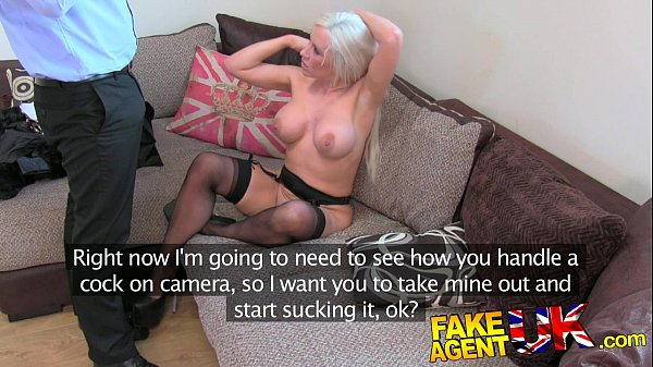 FakeAgentUK Dirty hot blonde loves a bit of anal sex Thumb