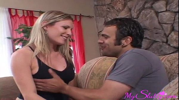 Sexy blonde Lets Her Stepbrother Fuck Her While Her Parents Are Out