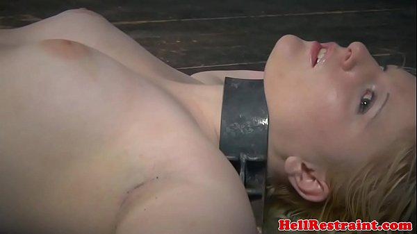 Bound sub humiliation whipped as punishment