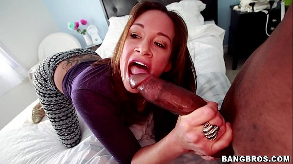 Crazy Torly Lane going off on this Thick Black Dick Thumb