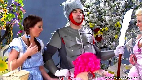 Not The Wizard Of Oz Fantasy Parody Sex
