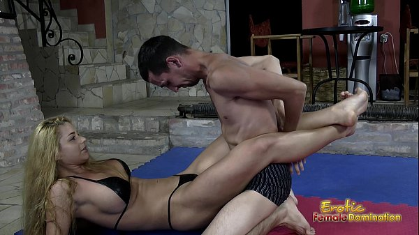 Victorious Wrestling Domina Jerks Off Her Loser Slave Thumb