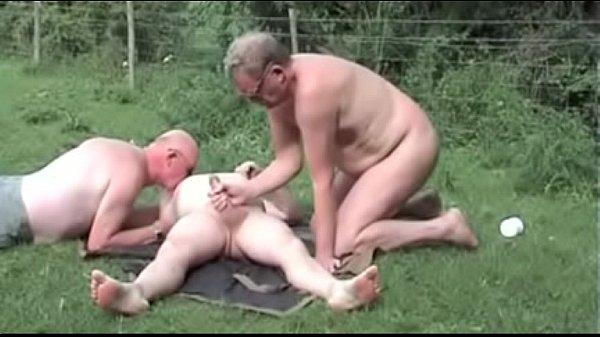 Old Men Outdoor Fun