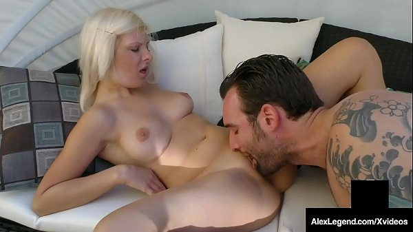 Alessandra Noir Fat Cock Fucked By Alex Legend!