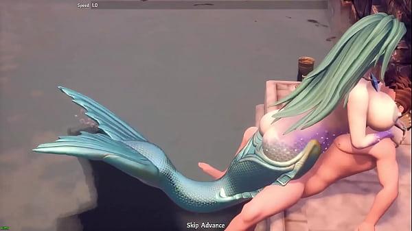 Breeders of the Nephelym: Sex with mermaid
