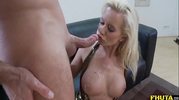 Great Anal Riding By Busty Blonde MILF Thumb