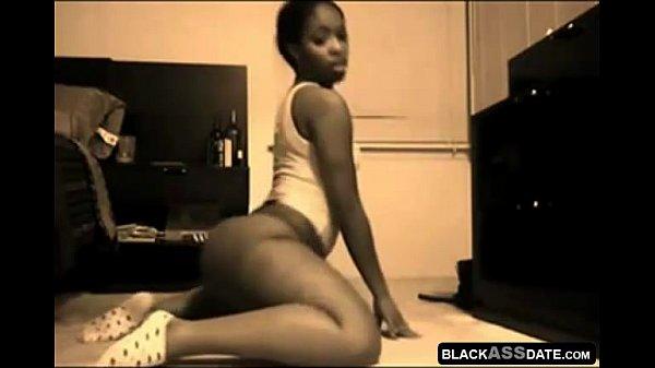 Flexible Ebony Showing Her Big Sweet Ass