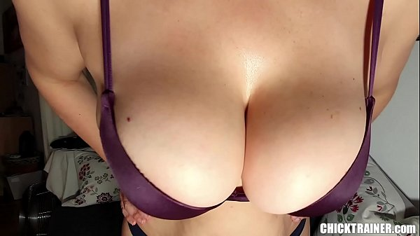 Busty Britney's Quickie Cum on Tits! Big Boobs Rodeo & Homemade Tittyfucking. Homemade h. Udders BJ and Cowgirl Style Pussy Fucking Thumb
