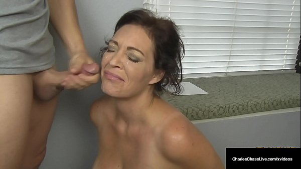 Husband's Employer Gets Milf Charlee Chase To Suck His Cock! Thumb