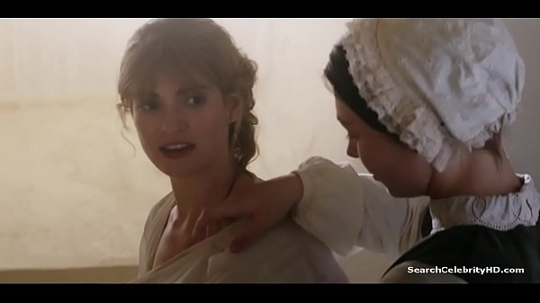 Lily James War And Peace S01E01 2016