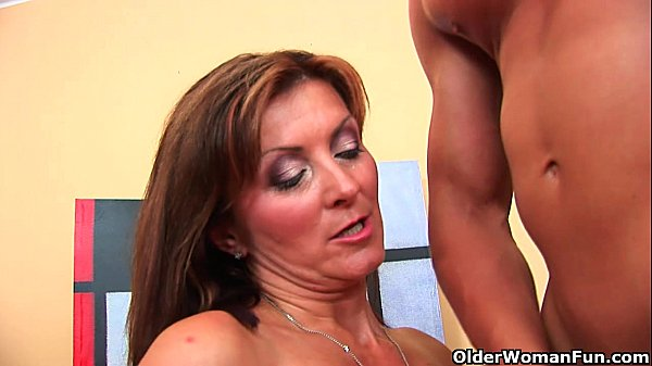 Older women with milf guy