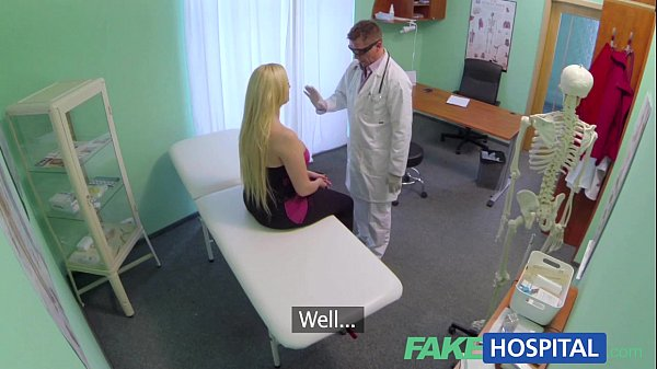 FakeHospital Sexual therapy causes new patient to squirt uncontrollably Thumb